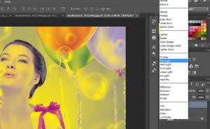 اِدیت رنگ تصویر با استفاده از مُد CMYK