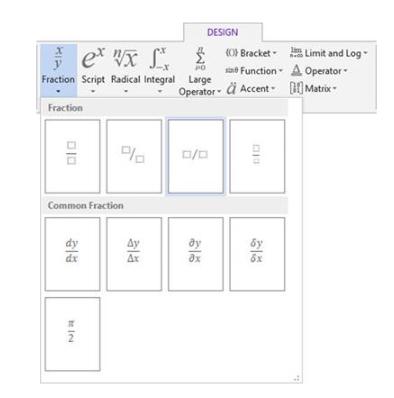 معادلات ریاضی در ورد - هدف آموزش