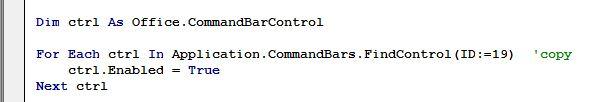غیرفعال کردن عملیات کپی و پیست در شیت ها و فرم های اکسل