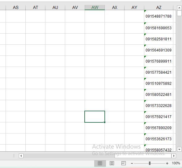 مقایسه داده های چند ستون در اکسل